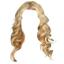 blond curly hair png - Google Search