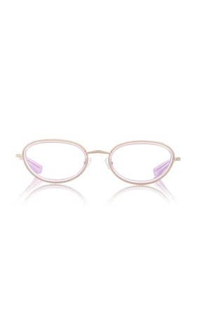 Area X Linda Farrow Crystal Sunglasses
