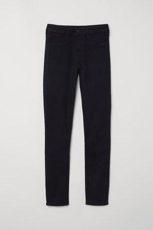 Skinny Regular Ankle Jeans - Black