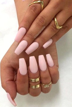 light-pink-coffin-nails-light-pink-acrylic-nails-beautiful-light-pink-nails-ideas-on-light-nails-ideas-light-pink-coffin-nails-matte.jpg (498×737)