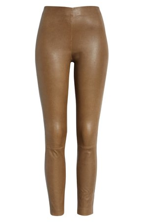 rag & bone Simone Lambskin Leather Pants | Nordstrom