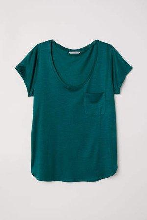 Jersey Top - Green