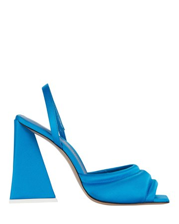 The Attico Devon Satin Sandals | INTERMIX®