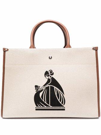LANVIN In&Out Canvas Tote Bag - Farfetch