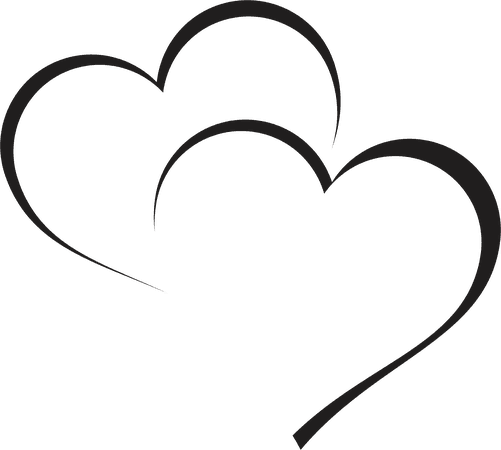 heart vector png - Google Search