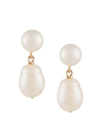 Natasha Schweitzer Mia pearl earrings