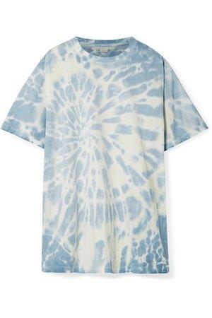 Stella McCartney | Oversized tie-dye cotton-jersey T-shirt | NET-A-PORTER.COM