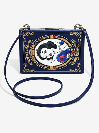 Loungefly Disney Snow White And The Seven Dwarfs Storybook Crossbody Bag