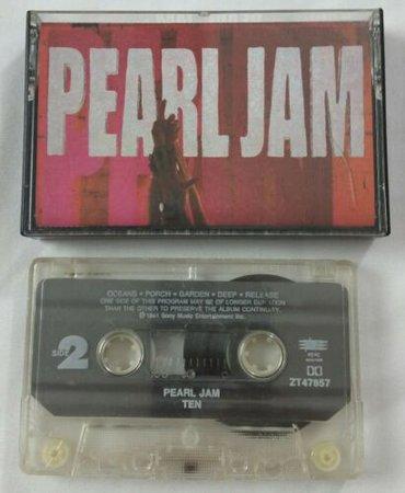 Ten by Pearl Jam (Cassette, Aug-1991, Epic) 74644785746   eBay