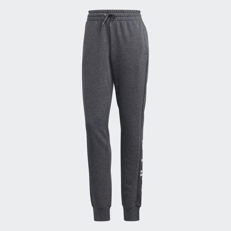 adidas Essentials Linear Pants - Grey | adidas US