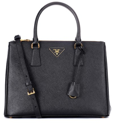 Galleria Saffiano Leather Tote - Prada | mytheresa.com