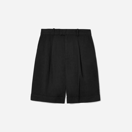 Women's Put-Together Pleat Short | Everlane black