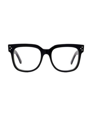 Celine Square Acetate Optical Frames | Neiman Marcus