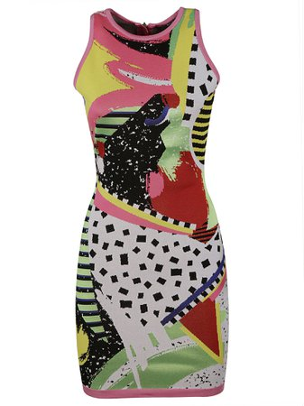 Balmain Slim-fit Sleeveless Dress