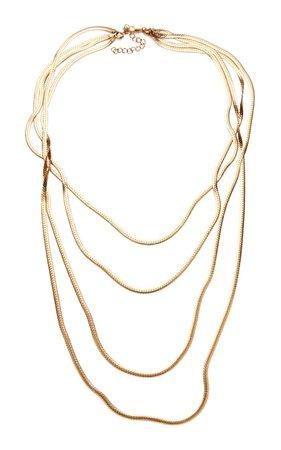 Palm Layered Necklace By Magda Butrym | Moda Operandi