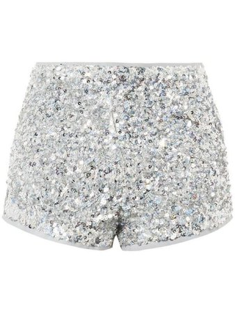 Silver sequence shorts