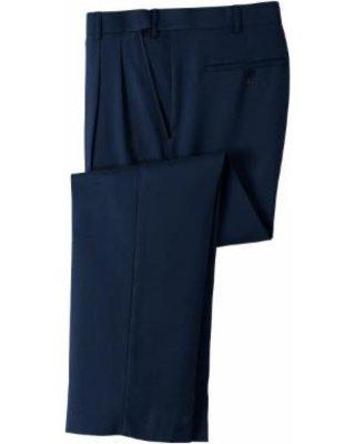 navy suit pants