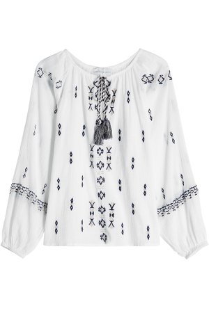 Embroidered Cotton Tunic Gr. S