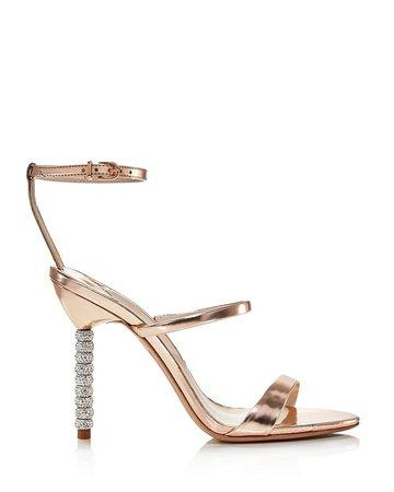 Sophia Webster Women's Rosalind Crystal 100 High-Heel Sandals | Bloomingdale's