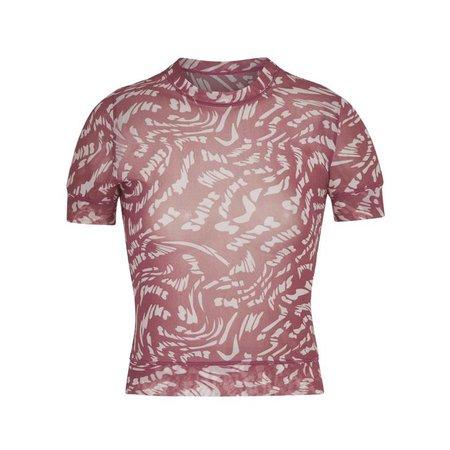 Summer Mesh T-Shirt - Raspberry Swirl | SKIMS