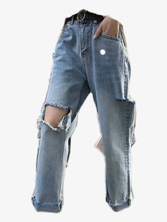 outfit png  jeans ripped