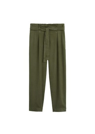 MANGO Relaxed Jungle jeans