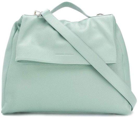 foldover top shoulder bag
