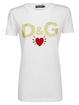 Dolce & Gabbana Dolce & Gabbana T-shirt - Bianco ottico - 10960261 | italist