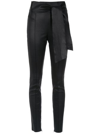 Nk skinny leather trousers
