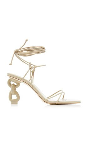 Zadie Leather Sandals By Cult Gaia | Moda Operandi