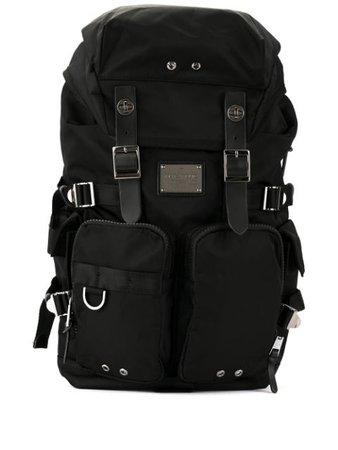 Black Makavelic Sierra Double Bottles Backpack   Farfetch.com