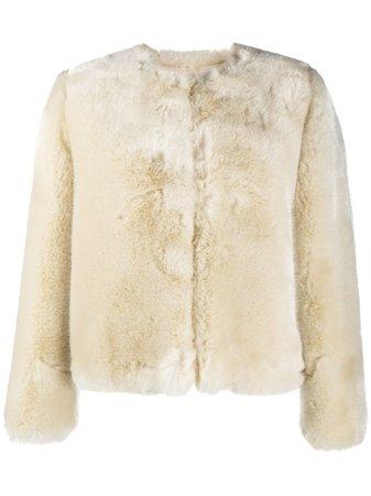 A.P.C. Faux Fur Jacket - Farfetch