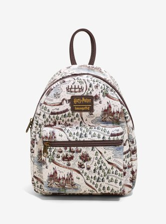 Loungefly Harry Potter School Grounds Mini Backapack