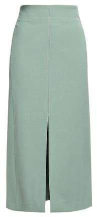 Holden Split-front Cady Midi Skirt