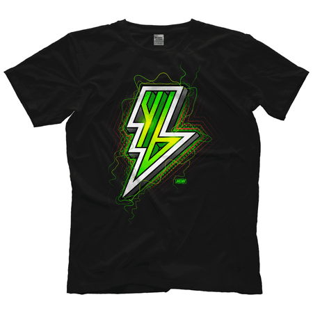 All Elite Wrestling Young Bucks – Electric Lightning T-Shirt AEW