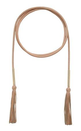 Tubular Leather Belt by Carolina Herrera | Moda Operandi