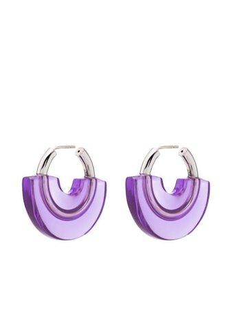 Panconesi half-covered Hoop Earrings - Farfetch