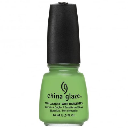 China Glaze ElectroPop Nail Polish Collection 2012 - Gaga For Green | Nail Polish Direct