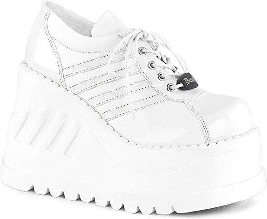 Amazon.com | Demonia Womens STOMP-08/WPT-WVL Shoes | Boots