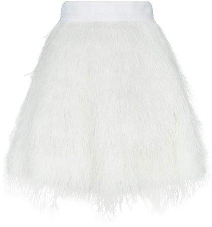 Cina Feather Mini Skirt