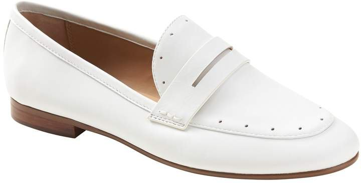 Demi Perforated Penny Loafer