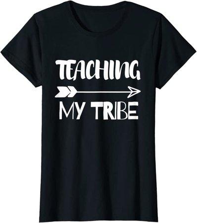 Amazon.com: Womens Teaching My Squad T-Shirt: Clothing
