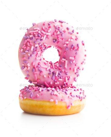 Pink sweet donuts. Stock Photo by jirkaejc | PhotoDune