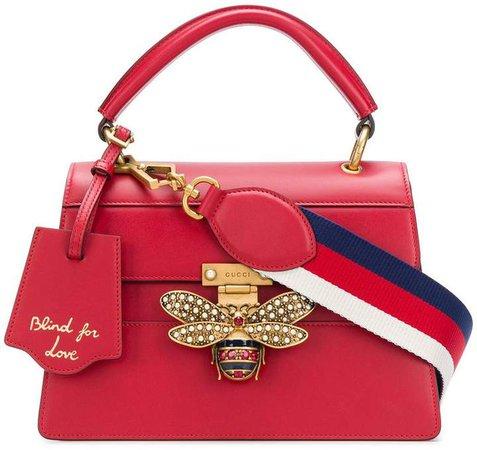 bee embellished shoulder bag