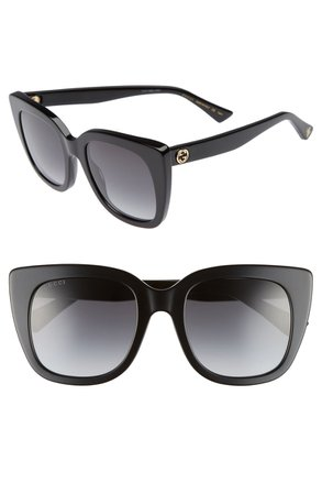 Gucci 51mm Cat Eye Sunglasses | Nordstrom