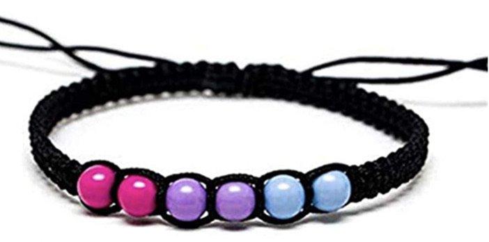 bisexual bracelet
