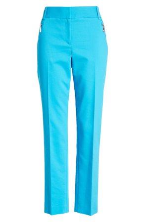 Chaus Dena Zip Pocket Ankle Pants | Nordstrom
