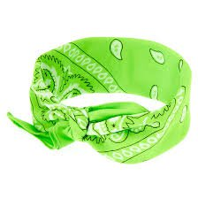 green bandana - Google Search