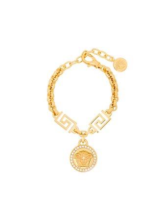 Versace Medusa-charm rolo-chain Bracelet - Farfetch