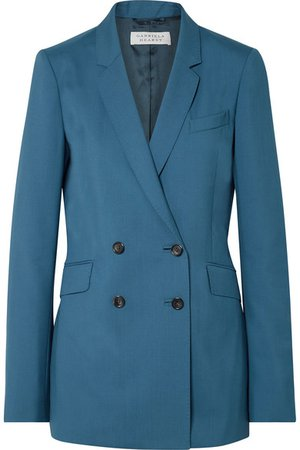 Gabriela Hearst | Helena double-breasted wool blazer | NET-A-PORTER.COM